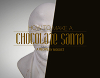 HOW TO MAKE A CHOCOLATE SANTA