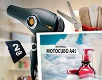 Campanha Natura - Motorola Motocubo