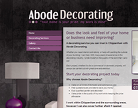 Interior Decorating - Web Design