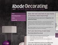 Interior Decorating - Web Design
