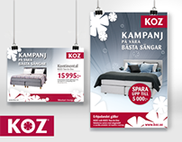 Poster, Price tags, Logo/Badge for KOZ