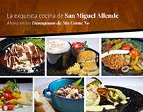Desayunos de San Miguel de Allende en Ma Come No