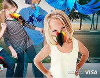 Conceito VISA - Mascaras Filme RIO