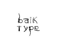 Baik Type