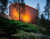 Finnish architecture - Finnish nature center Haltia