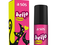 BEIJO ELÉTRICO - Gloss do Beijo