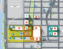 Midtown West Redevelopment Map