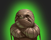 Grumpy Mummy