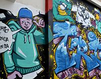 TRIO Skate Park Graffiti.