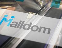 Malldom Branding and Identity