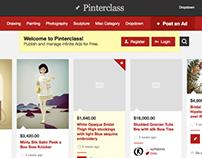 PinterClass: Pinterest clone (classified ads)