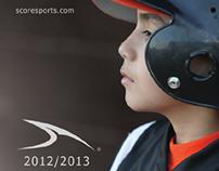 SCORE Sports™ 2012/2013 Baseball Catalog