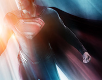 Man of Steel - One Sheet - Comp