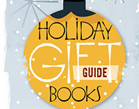 WSJ Holiday Guide: Illustrations, Hand Lettering