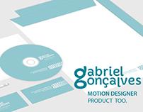 Gabriel Gonçalves, motion designer's identity