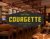 Courgette / Restaurant Re-Branding