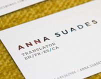 Anna Suades Vall /Translator/