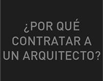 ¿Por qué contratar a un arquitecto?