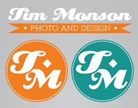 Tim Monson Photo Rebrand Project