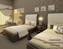 Smart Hotel Bed Room...