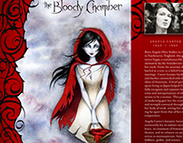 'The Bloody Chamber' Book Jacket
