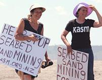 Raglan Seabed Mining Protest