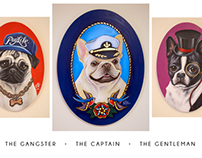 The Gangster (Pug Life), The Captain and The Gentleman