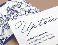 Upton Tea Imports rebrand