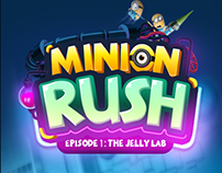 Minion rush UI