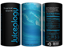 JUICEOLOGY Performance Drink packaging (concept)