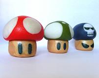 TOYS ♥ Mushrooms of Super Mario