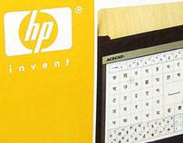 Hewlett Packard Labs - Gesture Keyboard Packaging