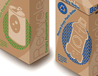 Can and Bottle Recycle Containers for Boeing