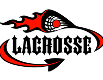 Lacrosse - Devil Tail & Flame Head