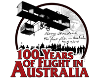100 Years of Flight in Australia Airshow Logo