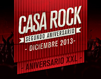 Flyers / Casa Rock Aniversary (2013)