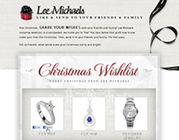 Lee Michaels Christmas Wishlist