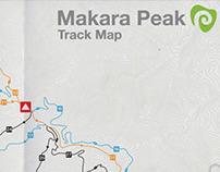 Makara Peak – Track Map