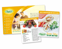 Quorn Foods Recipe Brochure