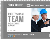 Architectural & Construction HTML5 Template 300111458