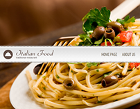 Italian Food Traditional Restaurant HTML5 Template
