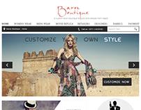 Baron Boutique - a custom tailor boutique for suits