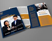 Company Brochure Bi-Fold Template Vol.8