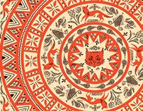 Mezenka (russian nord pattern)