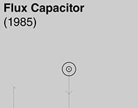 Flux Capacitor (BTTF) poster