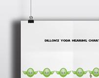 Yoda hearing chart | personal project