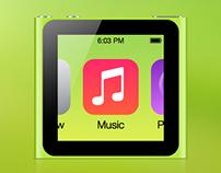 iPod nano 6G with iOS 7