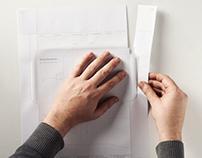IDENTITY KID paper sheet, 2011