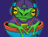 frog&music