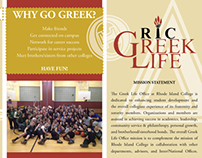 RIC Greek Life Brochure